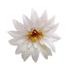 5 Inch - Loose Flower - Artificial Flower - Ceiling Flower - Flower Decoration - White Color