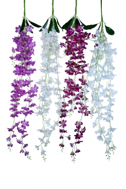 4.25 FT - Plastic Artificial Flower - Latkan - Flower Decoration - Multi Color