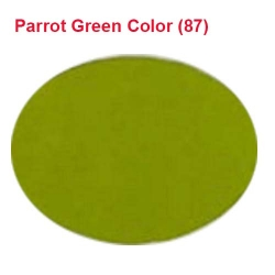 Rotto Cloth - 39 Inch Panna - Event Cloth - 5.7 Kg Quality - Parrot Green Color