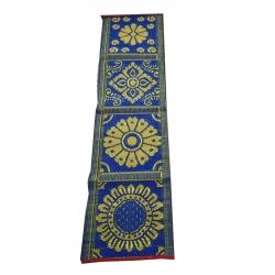 1.5 FT X 6 FT - Cotton Patti - Bhojan Patti - Taat Patti - Multi Color