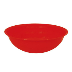 5 Inch - Vegetable Bowl - Round Bowl - Katori - Wati - Curry Bowls - Dessert Bowls - Made Of Food Grade Virgin Plastic - Red Color