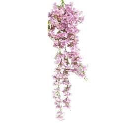 4.25 FT - Heavy Plastic Artificial Flower - Latkan - Flower Decoration - Light Purple Color