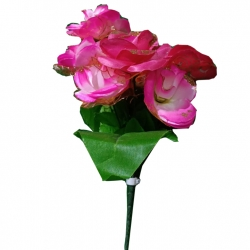 Artificial Flower Bunches - Fake Flowers Artificial Plant For Wedding - Reception - Pink Color