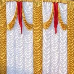 10 FT X 15 FT - Parda - Curtain - Stage Parda - Wedding Curtain - Mandap Parda Made Of 24 Gauge Brite Lycra