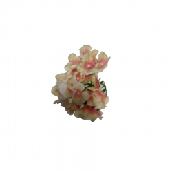 4 Inch - Loose Flower - Artificial Regular Quality Flower For Wedding Ceiling Flower - Multi Color ( 5 Piece Per Packet )