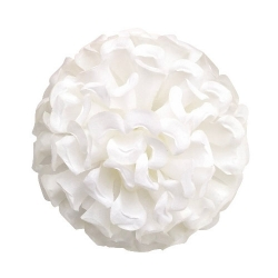6.5 Inch - Loose Flower - Artificial Flower - Ceiling Flower - Flower Decoration - White Color