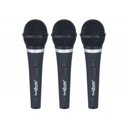 Studiomaster - Wireless - Trio 200 - SM 200 X 3 - Microphone - Black Color