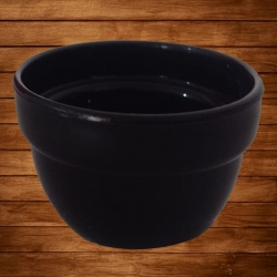 3 Inch Round Bowl - Wati - Katori - Curry Bowls Made Of Food Grade Virgin Plastic - Black Color