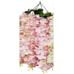 Height - 36 Inch - Artificial Creeper - Latkan - Flower Decoration - Artificial Latkan - Plastic Latkan - AF 533 - Light Pink Color