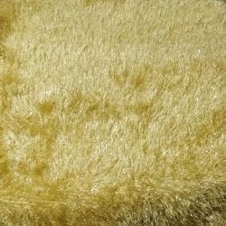 4 FT X 8 FT - Fur Floor Galicha - Rug Plush Flooring Carpet - Golden Color