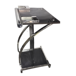 4 FT - Podium - Dias - Lectern Stand - Presentation Dias Made Of Stainless Steel