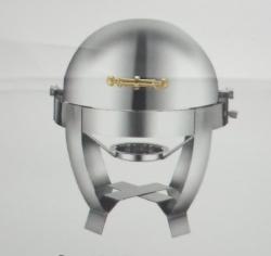 4 LTR - Chafing Dish - Hot Pot Dish - Garam Set - Buffet Set - Made Of Stainless Steel.