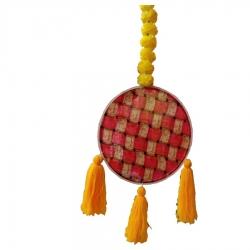 3 FT - Rajasthani Wall Hanging Handicraft - Hanging Jhumar - Multi Color