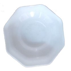 3.2 Inch - Bowl - Katori - Wati - Curry Bowls - Dessert Bowls - Made Of Food Plastic Unbreakable - White Color