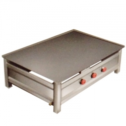 Stainless Steel - Commercial Dosa Plate. Size - (24 Inch x 36 Inches).