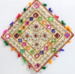 15 Inch - Jhumar - Wall Hanging - Kite Decorative Jhumar - Multi Color
