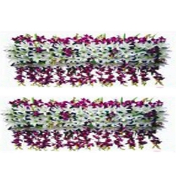 6 FT - Plastic Artificial Flower Panel - Flower Carry - Flower Decoration - Multi Colour