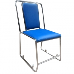Blue Color - Banquet Chair - VIP Chair - Chair - Steel Chair - Wedding Chair - Made Of Stainless Steel