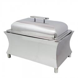 10 LTR  - Chafing Dish - Hot Pot Dish - Garam Set - Buffet Set - Made Of Stainless Steel.