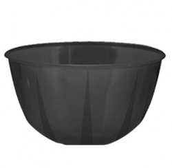 3.5 Inch Regular Round Bowl - Katori - Wati - Curry Bowls - Dessert Bowls - Made Of Food Grade Virgin Plastic - Black Color