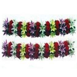 5 FT - Plastic Artificial Flower Panel - Flower Carry - Flower Decoration - Mutli Color.