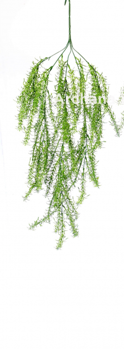 30 Inch  Artificial Green Wall Hanging - Grass Decoration - Green Color