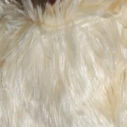 Teddy Bear Fur Roll - 54 Inch Panna - Decorative Cloth - Peach Color
