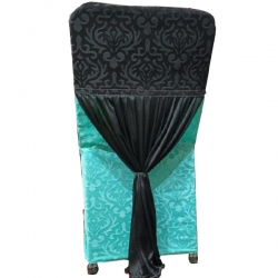 velvet chair bow