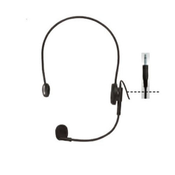 Ahuja HBM-50 Headband Microphones - Black Color