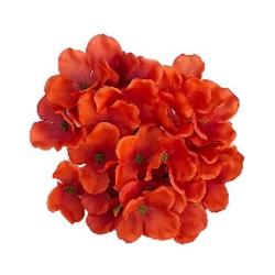 6 Inch - Loose Flower - Artificial Flower - Ceiling Flower - Flower Decoration - Light Brown Color