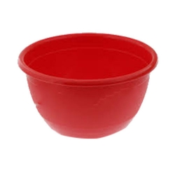 Small Katori - Curry Bowls or Dessert Bowls Made Of Food-Grade Virgin Plastic - Red Color