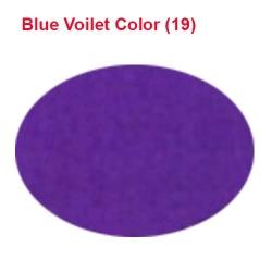 Micro Janta Quality - 39 Inch Panna - 5.7 KG Quality - Blue Violet Color