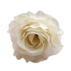 4 Inch - Loose Flower - Artificial Flower - Ceiling Flower - Flower Decoration - White Color