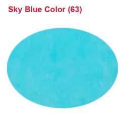 Rotto Cloth - 39 Inch Panna - Event Cloth - 5.7 Kg Quality - Sky Blue Color