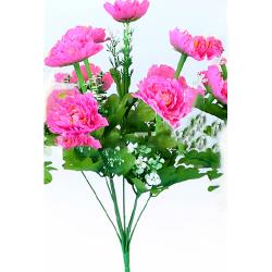 Height 16 Inch - Morifolium Bunch - AF - 561 - Leaf Bunch - Pink Color