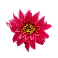 5 Inch - Loose Flower - Artificial Flower - Ceiling Flower - Flower Decoration - Pink Color