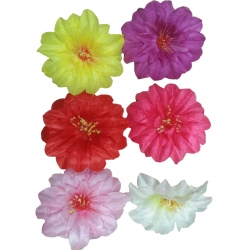 Loose Flower - Artificial Regular Quality Flower For Wedding Ceiling Flower - Multi Color