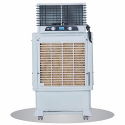 67 LTR - Duct Cooler - Knockdown Coolbox - Air Cooler - Cooler 300SH - With Trolley - White Color