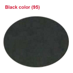 Micro Janta Quality - 41 Inch Panna - 6 KG Quality - Black Color