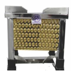 10 Inch - Golden Diamond Bhatti - Gas Bhatti - Made Of Stainless Steel