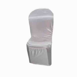 Chair Cover Without Handle For Plastic Chair - White Color