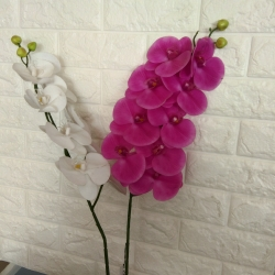 39 Inch - Plastic Artificial Flower - Artificial Cherry Blossom - Flower Bounch - Flower Stick - Made Of Plastic