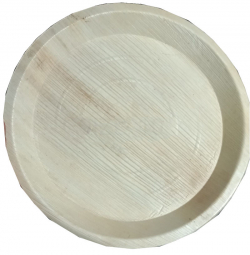 10 Inch - Disposable Dinner Plate - Eco-Friendly Disposable - Round Areca Leaf Plates