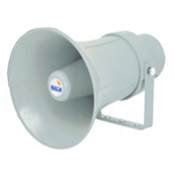 Ahuja UHC-15 Low Impedance PA Horn Speakers - Gray Color