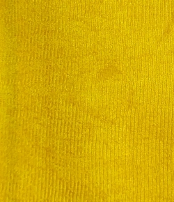 Warp Niting Crush - 5 meter Quality - 48 inch Paana - Window Cloth - Yellow Color