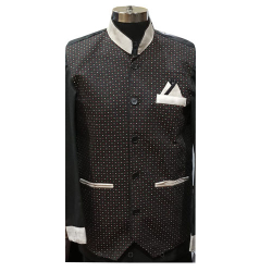 Chef Coat - Full Sleeves - Made Of Premium Quality Cotton - Piping Trim & Buttons.(Available Size 38 , 40 , 42 )