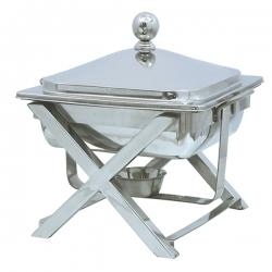 5 LTR - Chafing Dish - Hot Pot Dish - Garam Set - Buffet Set - Made Of Stainless Steel (5.2 Kg)