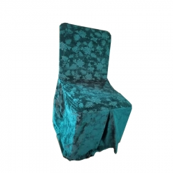 Chair Cover - Heavy Velvet - Fabric - Sky Blue Color