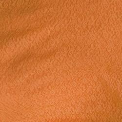 Russel Net - 5 Feet Panna - Floral Net - Event Cloth - Rust Orange Color