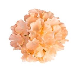 6 Inch - Loose Flower - Artificial Flower - Ceiling Flower - Flower Decoration - Light Orange Color